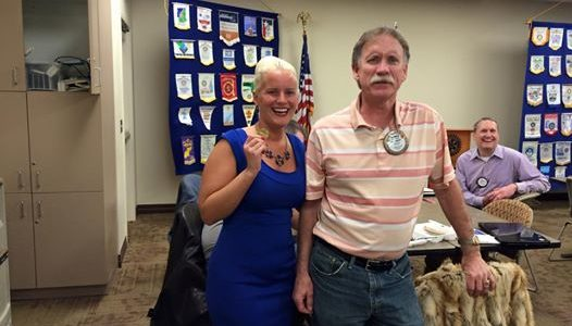 Brittany Walters-Bearden Speaks to Kingman, Arizona Route 66 Rotary Club